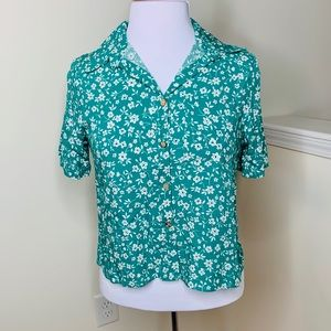 🎉5 for $25🎉  Floral Button Down Top